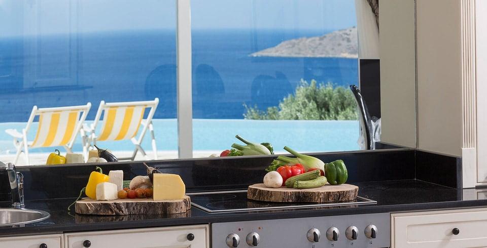 Greek Villa - Fully equiped kitchen