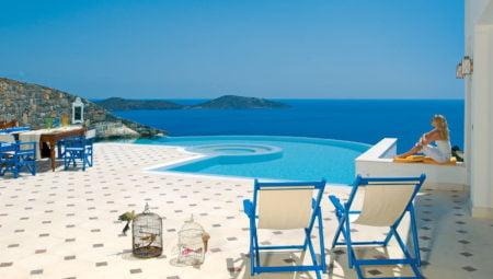 Pool With Sea View Luxury Villa Crete