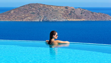 Pool With Sea View Luxury Villa Crete