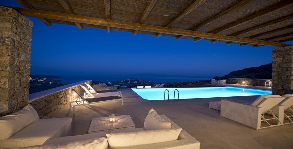 Luxury Villa Mykonos Bathroom