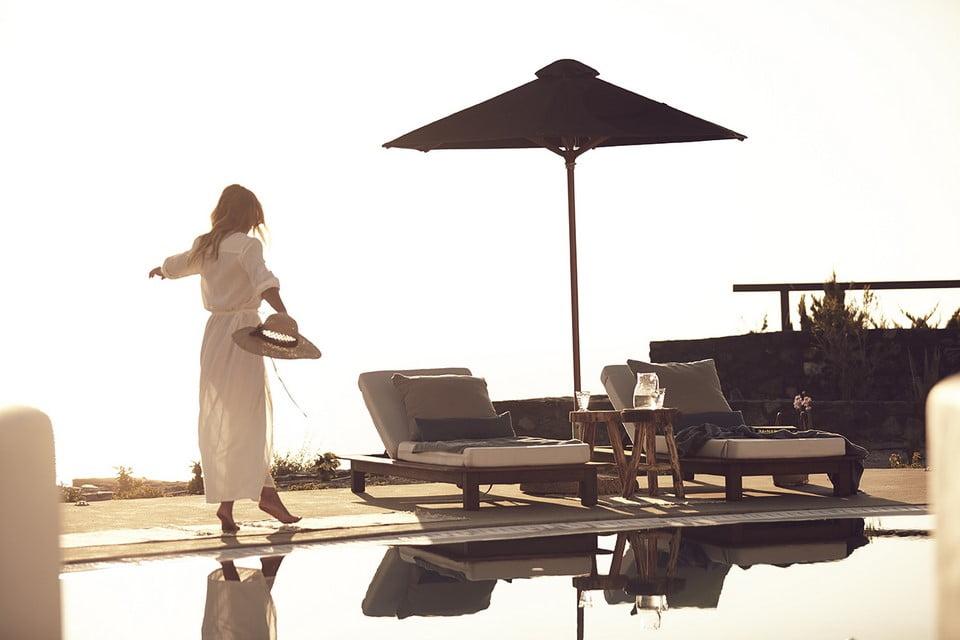 Luxury Villa Mykonos Kitchen