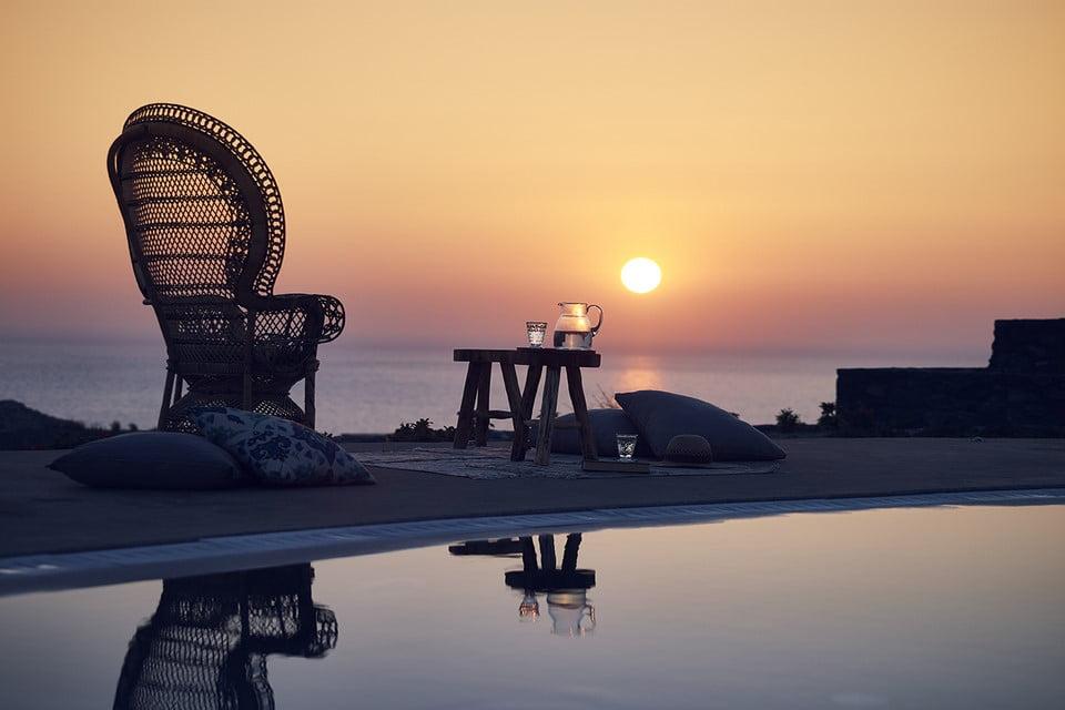 Luxury Villa Mykonos Bedroom