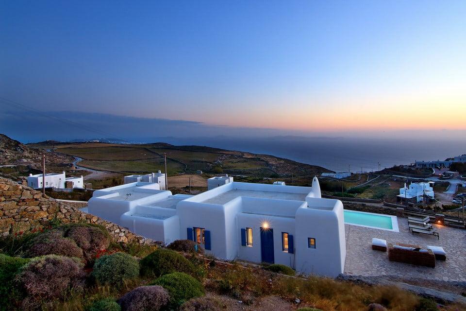 Luxury Villa Mykonos Indoor Area