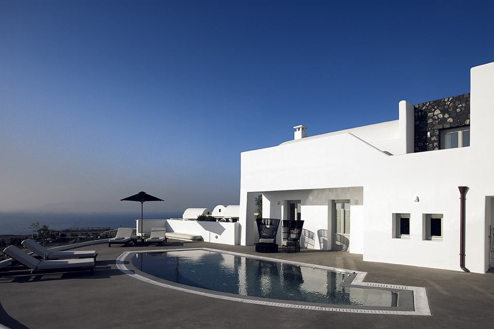 Pool With Sea View Luxury Villa Mykonos