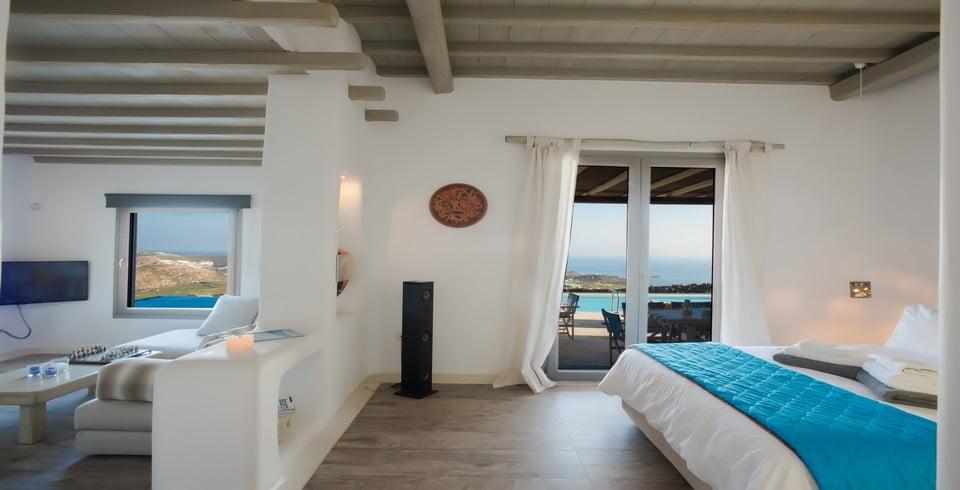 Luxury Villa Mykonos Dinning Area