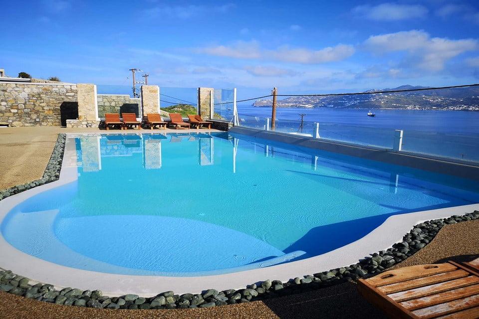 Pool View Luxury Villa Mykonos
