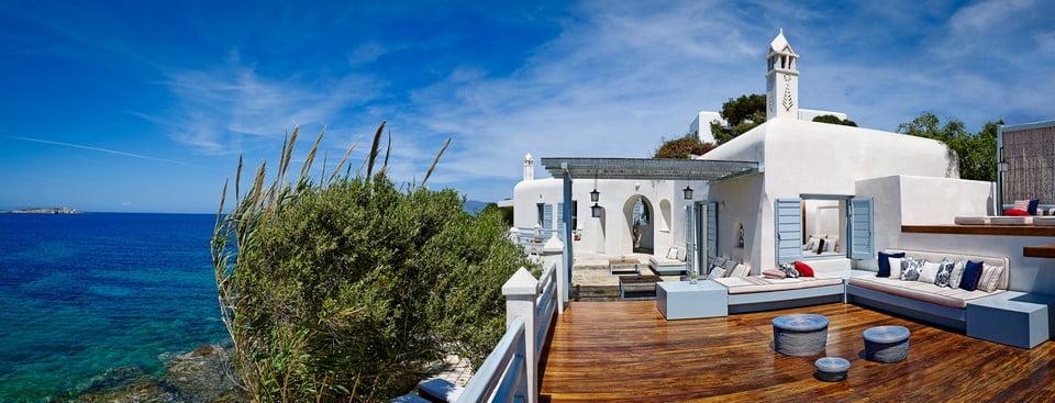 Luxury Villa Mykonos Master Bedroom