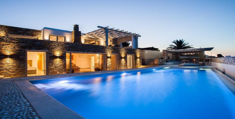 luxury villas mykonos