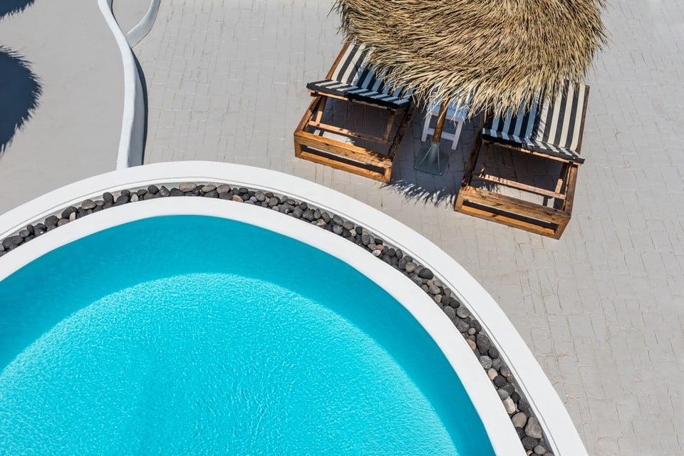 luxury villa Bedroom Mykonos