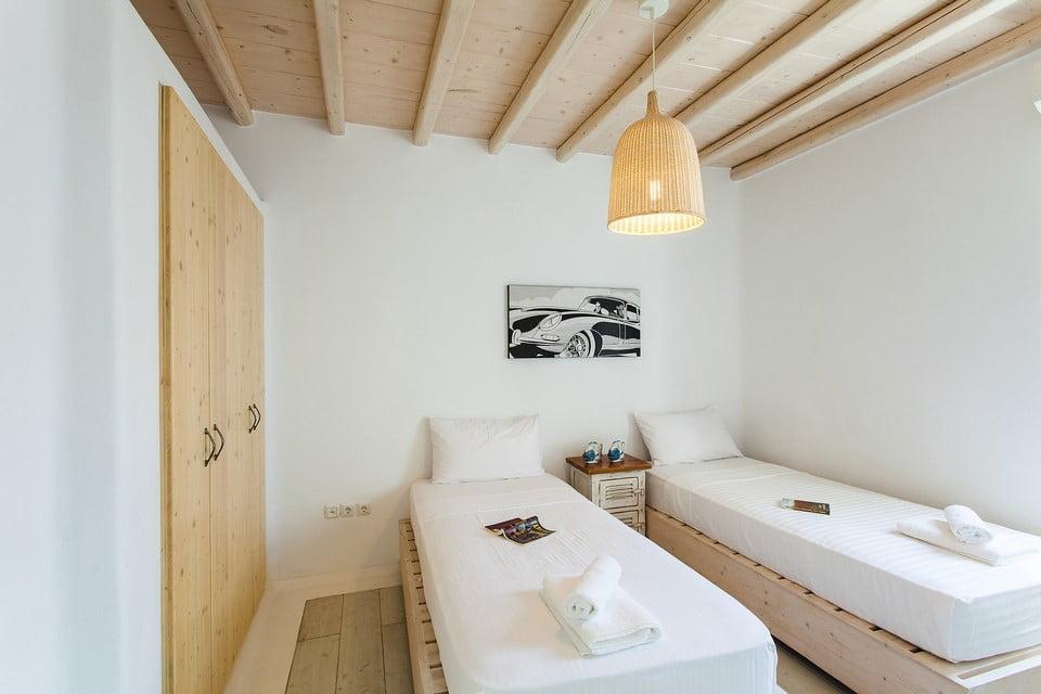 luxury villa outside area Crete