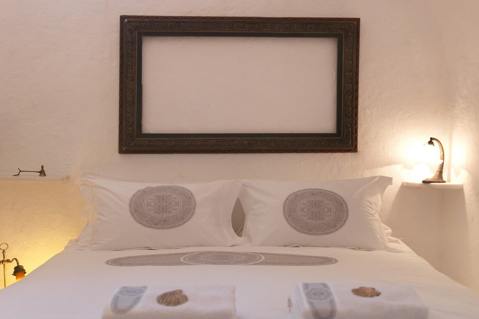 Luxury Villa Mykonos Bedroom
