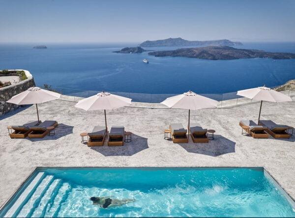Greek Villa in Santorini. Elite Estates