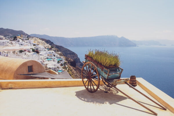 Santorini, fall. Weather in Santorini by month.